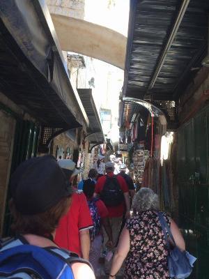 Walking the Via Dolorosa