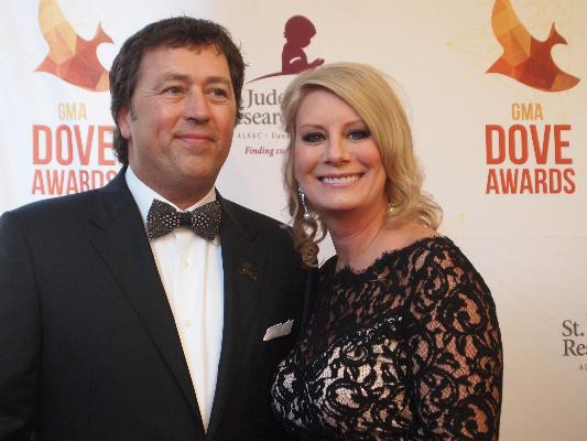 "Alan and Lisa Robertson from TV's ""Duck Dynasty"""