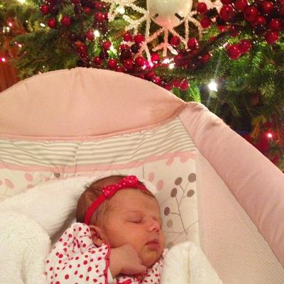 Phil and Kim Collingsworth's new grandbaby Emma sparkles brighter than any Christmas lights