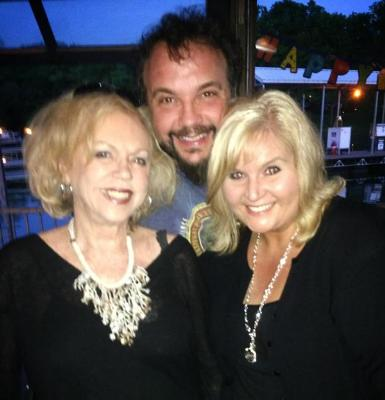 Sue Buchanan, Ben Isaacs, and Teri McDonald