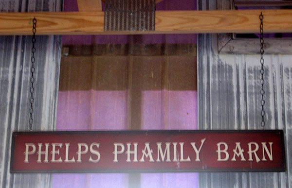 Welcome to the Phelps Phamily barn!