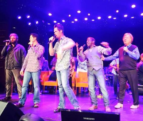 The GVB performing at sea