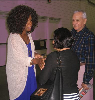 Meeting Lynda Randle