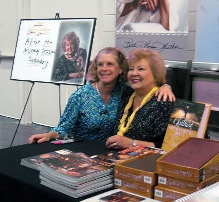Gloria's book signing