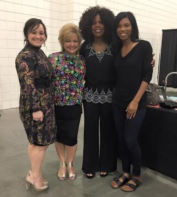 Moms & daughters – Morgan and Sheri Easter with Lynda and Patience Randle