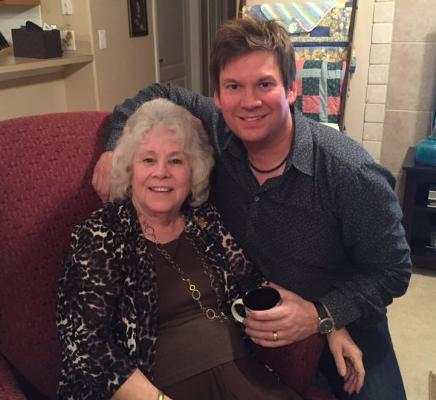Jim Brady cherishes his mother, Darlene