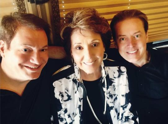 Connie Hopper with her boys, Dean and Mike