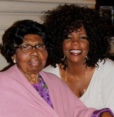 Lynda Randle misses her dear mom, Maxine Tait