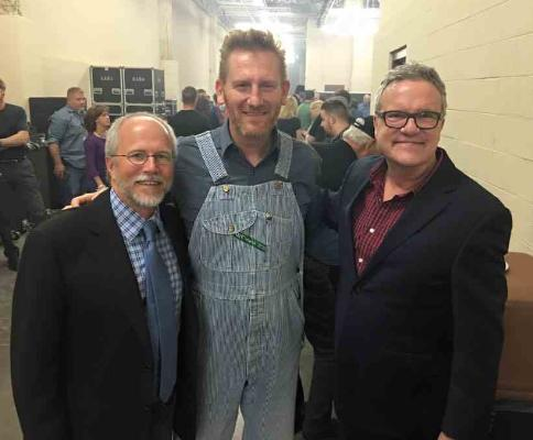 Backstage with Buddy Greene, Rory Feek and Mark Lowry