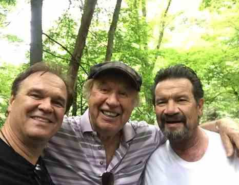 Jeff Easter, Bill Gaither and Russ Taff enjoying their annual trail hike