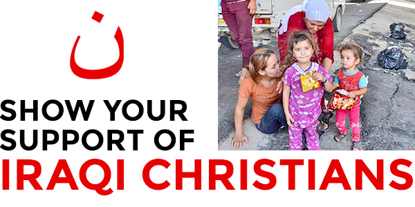 Show your support of Iraqi Christians