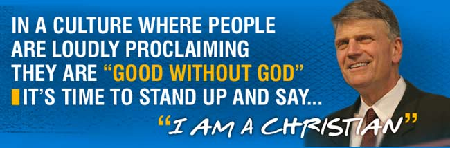 "Stand Up and Say ""I Am A Christian"""