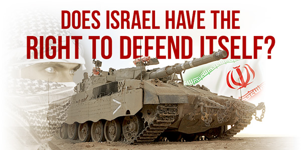 Does Israel Have the Right to Defent Itself