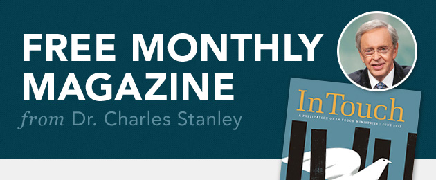 Free monthly magazine from Dr. Charles Stanley