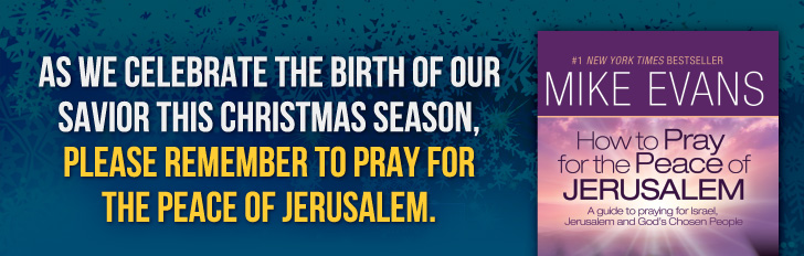 Please remember to pray for the peace of Jerusalem.