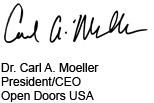 Carl A. Moeller Signature