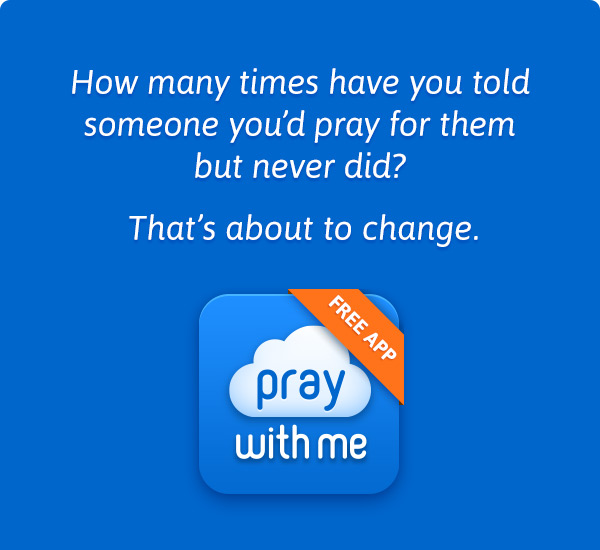 New App! All of your prayers in one place