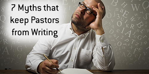 As a Pastor, what keeps you from writing?