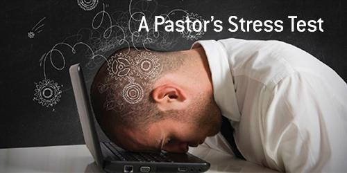 Despite its public persona, pastoring is stressful.