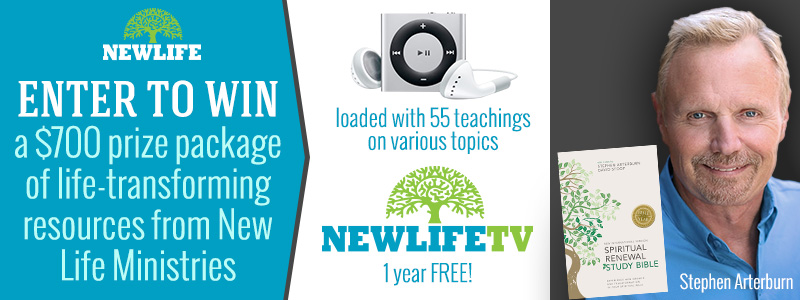 New Life Ministries prize package giveaway