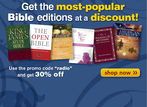 Get top selling Bibles at a discount!