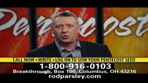 Breakthrough with Pastor Rod Parsley