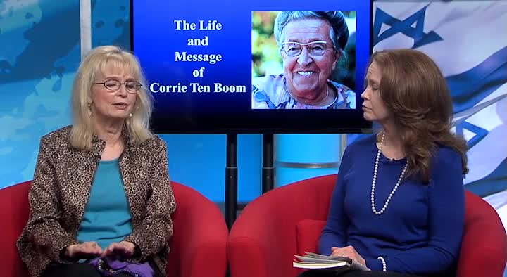 Evelyn Hinds on Corrie Ten Boom by Christ in Prophecy with Dr. David R. Reagan