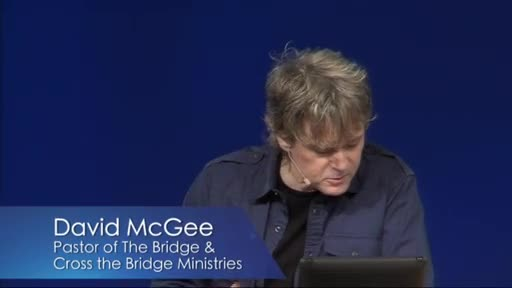 Cross the Bridge  with David McGee