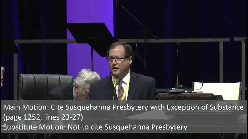 Wednesday June 10, Session 3-2 by PCA General Assembly with Presbyterian Church in America