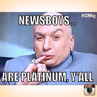 Newsboys, CCM Magazine, Dr. Evil