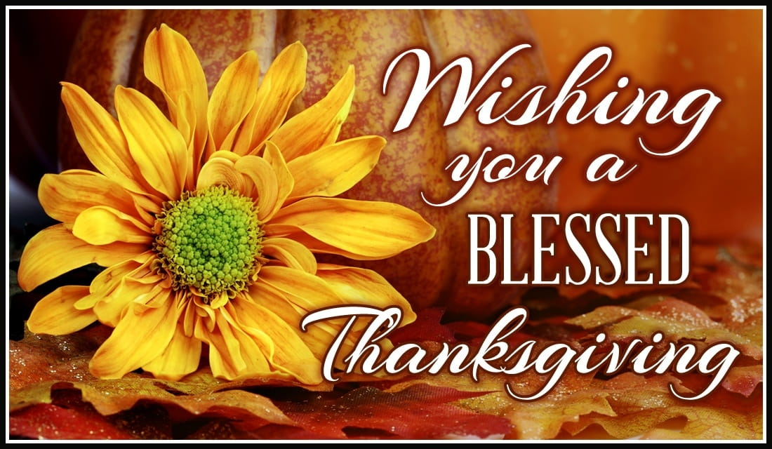 Blessed Thanksgiving eCard - Free Thanksgiving Cards Online