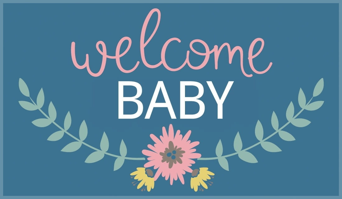 Free Welcome Baby eCard - eMail Free Personalized New Baby ...