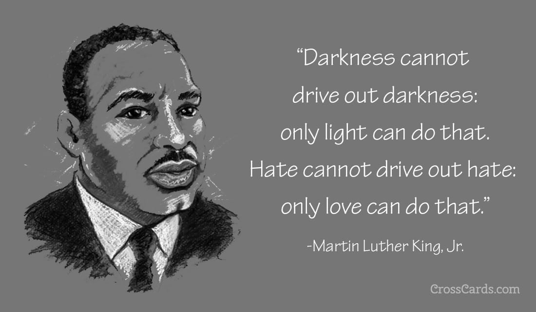 Martin Luther King Jr Day eCard - Free MLK Cards Online