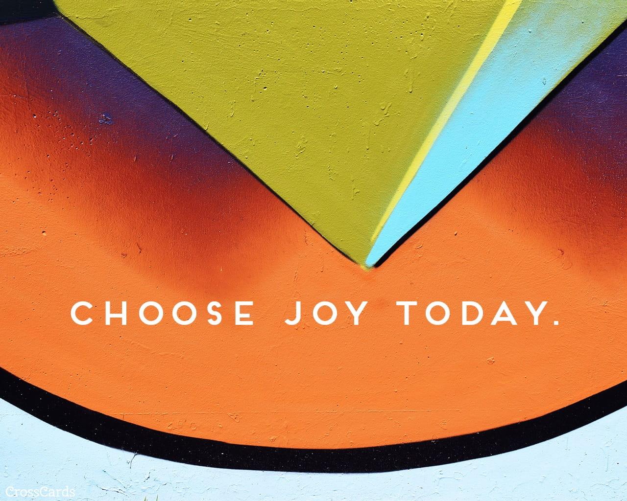 Choose Joy Today Desktop Wallpaper - Free Backgrounds