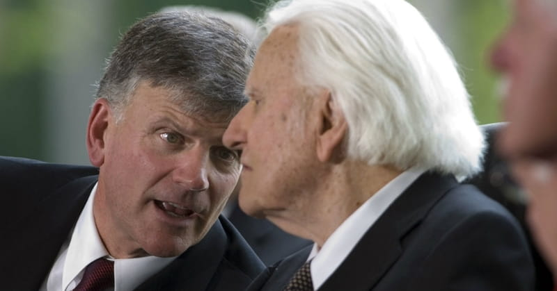 Son Franklin Graham Reports on Rev. Billy Graham's Condition before 99th Birthday